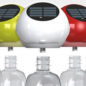 solar flaschen lampe