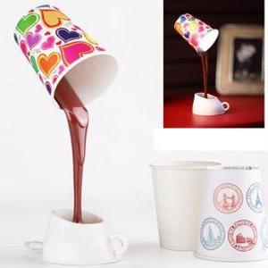 stehlampe kaffee