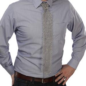 krawatte kettenhemd metall