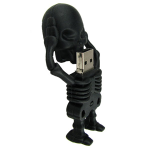 skelett usb stick