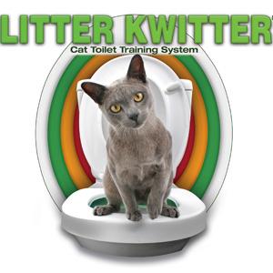litter kwitter katze training klo