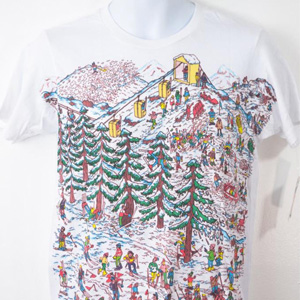 tshirt wo ist waldo where is