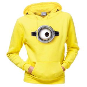 minion hoodie gelb