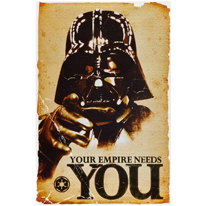 your empire needs you star wars poster