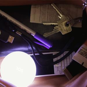 licht handtasche schlüssel suchen