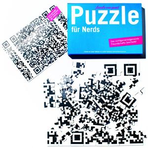 puzzle nerd qr-code