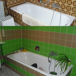 fliesen aufkleber bad renovierung verschönerung
