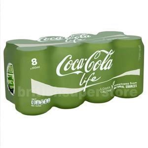 coca cola life bio zucker