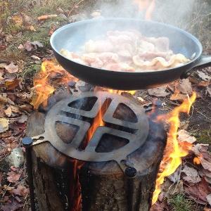 grill pfanne feuerstelle miti