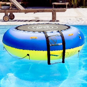 trampolin aufblasbar pool