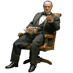 der pate godfather vito corleone figur statur