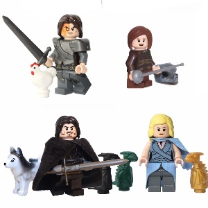 game of thrones lego figuren