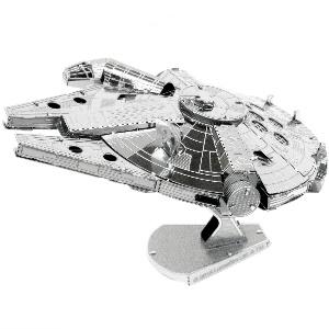 star wars bausatz metall millennium falcon