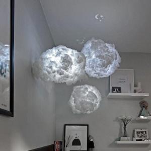 wolken lampe led