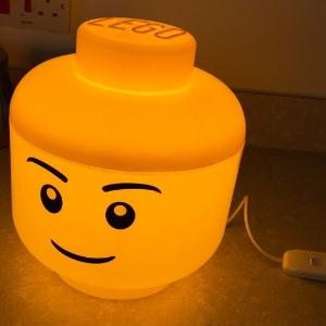 lego gesicht lampe led