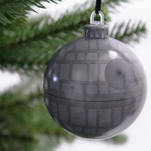star wars weihnachtsbaum kugeln todesstern stormtrooper
