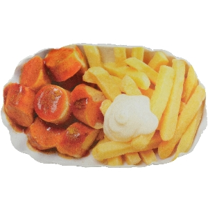 currywurst kissen