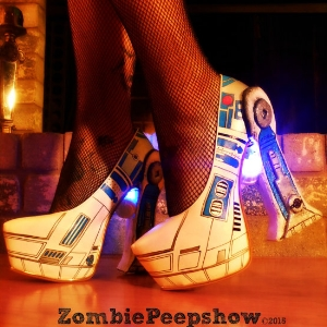 r2d2 star wars pumps led