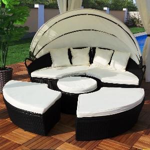 garten liege lounge