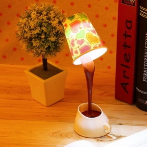 lampe usb kaffeebecher